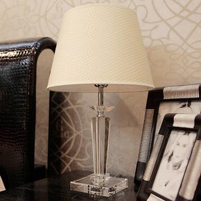 品氏 现代简约时尚奢华水晶台灯卧室床头客厅灯具灯饰创意床头灯