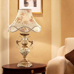 柏诗帝欧式台灯高档婚庆礼品 美式结婚用礼物台灯 酒店床头柜台灯