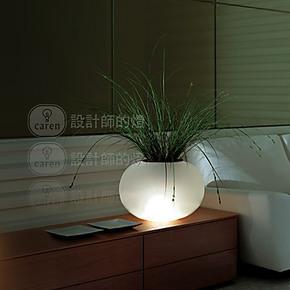 【设计师的灯】北欧美式田园创意卧室床头工作学习时尚 花盆台灯