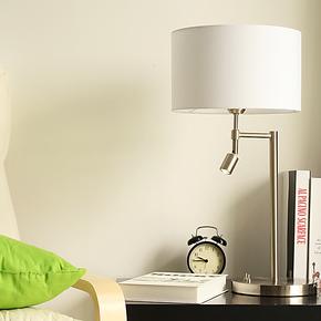 简约时尚现代创意台灯 卧室床头台灯 床头灯 书房客厅LED台灯