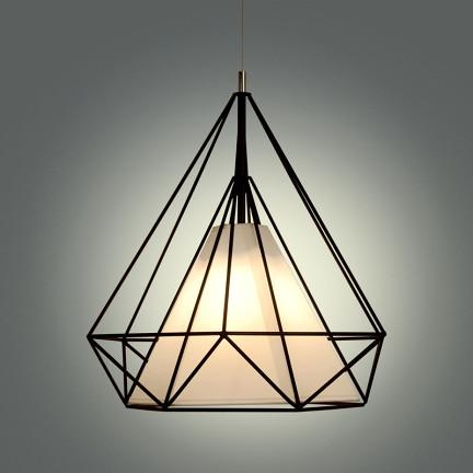 乐灯 美式艺术客厅吊灯创意餐吊灯卧室书房餐厅吊灯具灯饰 钻石