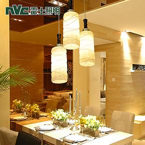 雷士照明客厅灯餐厅灯现代简约时尚吊灯三头创意灯饰灯具NUD1915