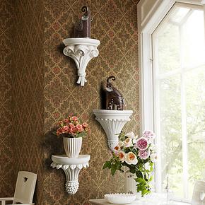 欧式 树脂 墙面创意 置物架花架搁板 装饰架 墙壁架 壁挂架