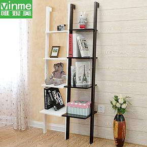唯妮美 宜家书架靠墙置物架 创意家居转角层架隔板储物架 包邮