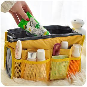 默默爱韩国包中包 双拉链收纳包 包中包收纳整理袋 化妆包 大号