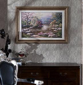 【预售】美画美式风格装饰画别墅画定制壁画挂画酒店画美丽