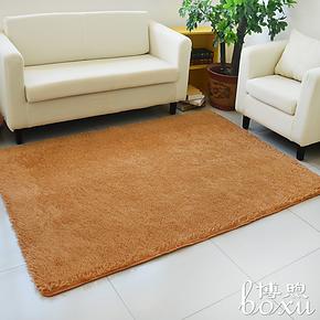 博煦品牌加厚丝毛客厅茶几地毯 卧室床边飘窗地垫可水洗定制包邮
