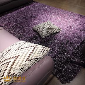 超厚加密5厘米小旗纱亮丝地毯客厅茶几卧室地毯免洗地毯定制包邮