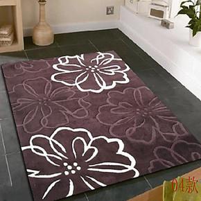 轩然正品腈纶地毯加厚手工地毯地垫卧室地毯客厅茶几地毯可定制