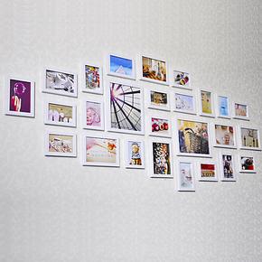 景宇 环保26框田园组合 相框墙 照片墙 创意组合家居 送照片 D302