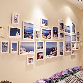 金鼎 28框超大尺寸照片墙相框 创意组合 大客厅专用相框墙 送画芯