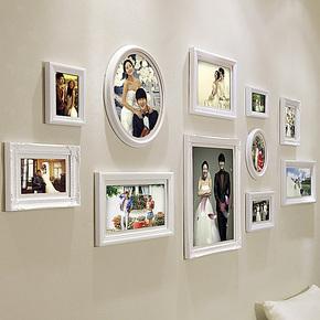 欧木格 照片墙 实木欧式相片墙 相框墙相框组合 创意礼品 18011