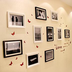 梓晨 实木照片墙 13寸超大尺寸组合 自由自在 纯DIY HD-100