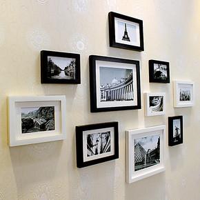 金零点ZB10B高端实木相框新款创意照片墙/相框墙/相框组合