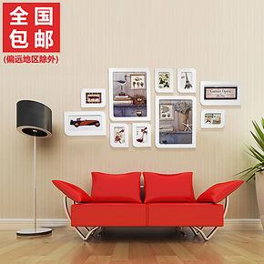 绿色环保木塑照片墙 婚纱艺术照相框墙组合 新品亏本包邮 MS-10