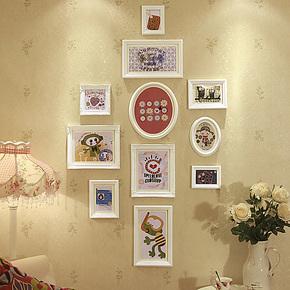 欧木格照片墙 欧式相片墙 竖形玄关卧室相框墙相框组合创意86811