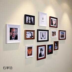 右手边 高档 欧式实木照片墙 相框墙 相片墙高品质照片墙定制12A2