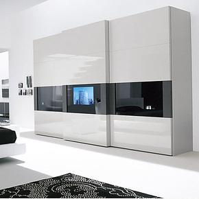 维玛家居 整体移门衣柜 双移门衣柜 定制定做 品质保证CUZB023