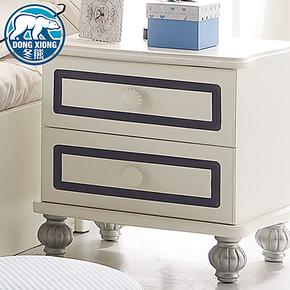 冬熊T1 家居 简约现代风格 儿童家具床头柜 特价板式储物柜 8619