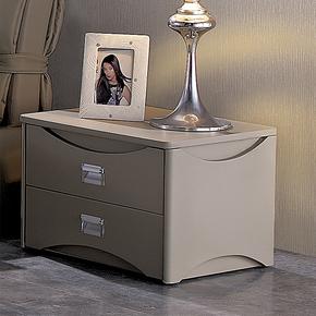 夏朗喜达屋 品牌床头柜 现代床头柜 简约时尚小储物柜床边柜G030