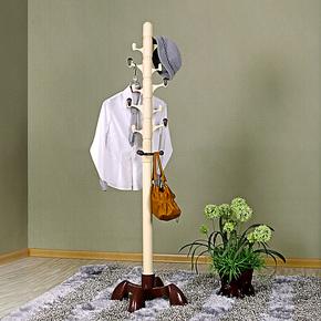 时尚衣帽架创意挂衣服架子室内落地挂衣架韩式简易旋转立式置衣架