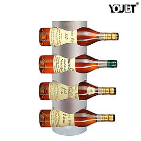 YOULET正品 简约式挂墙式不锈钢红酒架酒具E601
