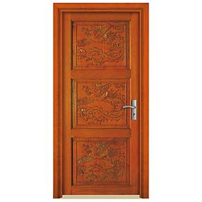 【深宇门业】卧室门套装门室内原木烤漆门全实木指节橡木门S-646