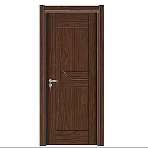 [深宇门业]卧室门套装门室内烤漆门全实木指节橡木门S-030原木门