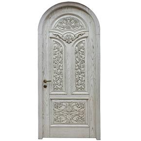 【深宇门业】卧室门套装门室内原木烤漆门全实木指节橡木门S-505