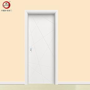 欧派木门 实木复合烤漆门 木门 室内门套装门 房间门卧室门PS-128