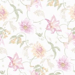 玉兰墙纸 奥罗拉ARA13571 美国田园进口纯纸 客厅背景墙卧室壁纸
