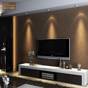 洛可可壁纸 奢华皮革壁纸 客厅卧室背景墙墙纸 SSSY3-G
