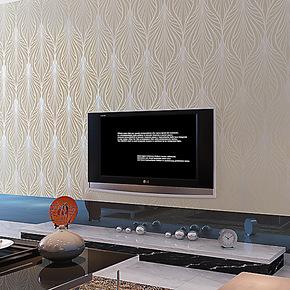 玉兰墙纸欧式简约进口高档无纺布卧室客厅电视背景墙纸环保壁纸