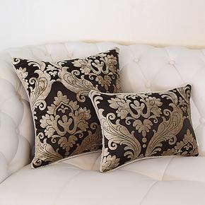 新款咖啡欧式床头沙发靠背靠垫大抱枕办公室腰枕大号含芯靠枕定制