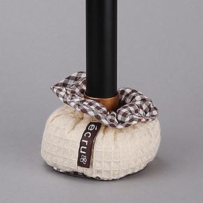 日本LEC正品 田园布艺桌椅脚保护套凳子脚垫桌子脚套O-460/462