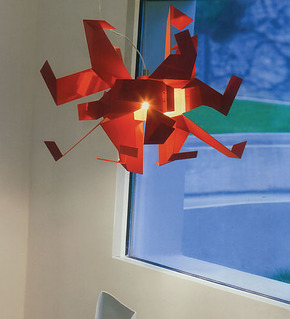 兰亭集势Glow千纸鹤创意折纸吊灯 现代简约卧室客厅灯饰餐厅灯具