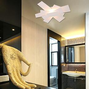 卡迪森现代简约创意灯具玄关过道客餐厅书房卧室阳台吸顶灯螺旋桨