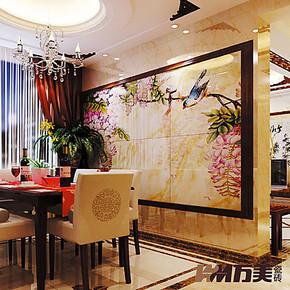万美瓷砖 电视背景墙瓷砖 客厅艺术壁画砖 雕刻仿古砖 鸟语花香