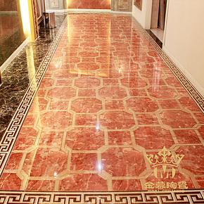金慕中式镀金抛晶砖艺术砖/抛金砖/餐厅客厅走廊过道瓷砖600X600