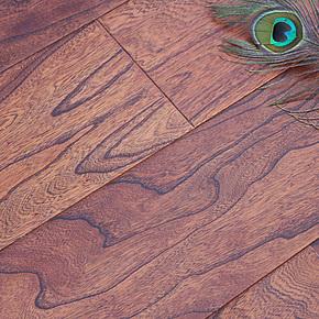 实木多层地板 大板 仿古浮雕 复合地热地暖地板 厂家直销特价S01