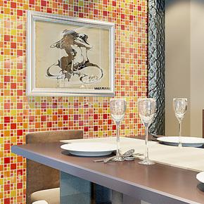 水晶玻璃艺术马赛克卫生间厨房浴室游泳池电视背景墙墙贴瓷砖特价