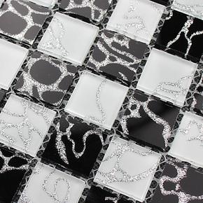 T恺蓝 马赛克 拼图背景墙 玻璃瓷砖 T1739 吧台电视墙 卫生间墙砖