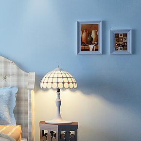 藤格先生 淡蓝色地中海 无纺布壁纸 儿童房男女孩卧室背景墙纸 SU