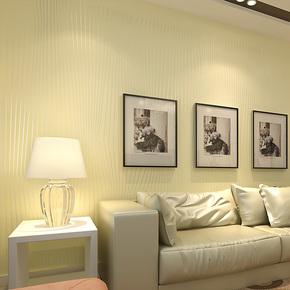 旗航简约条纹壁纸 超纤环保无纺布墙纸 卧室背景墙客厅壁纸qhc-t