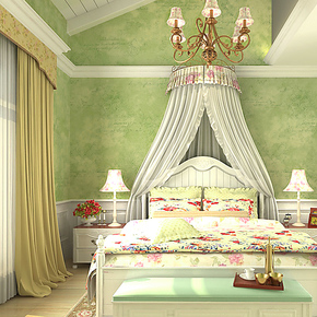 歌诗雅墙纸 客厅卧室书房满铺 时尚简约绿色字母壁纸190英伦风格