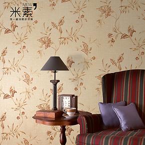 米素壁纸 欧式复古壁纸 田园无纺布墙纸 卧室客厅背景墙 凯瑟琳