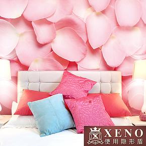 西诺大型壁画墙纸 客厅电视沙发婚房卧室背景墙唯美壁纸 玫瑰花开