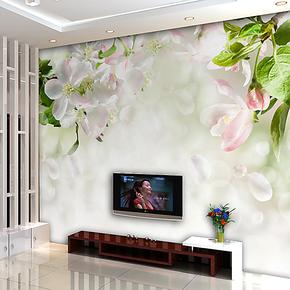易卡大型壁画 电视背景墙 卧室温馨墙纸壁纸 电视壁纸自粘墙贴纸