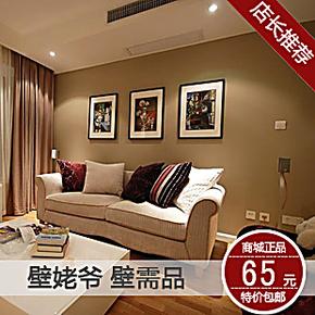 壁姥爷 无纺布现代简约 纯色壁纸素色墙纸 客厅卧室满铺壁纸 特价