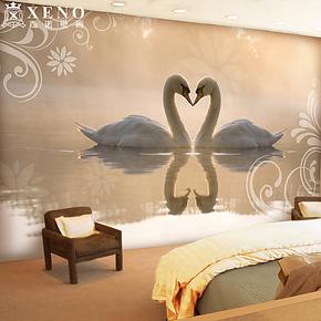西诺大型壁画墙纸 客厅电视沙发卧室婚房背景墙唯美壁纸 优雅爱情